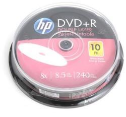 HP DVD+R 8.5GB 8x - henger 10db nyomtatható