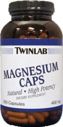 Twinlab Magnesium kapszula (100db)