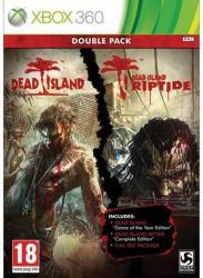 Deep Silver Double Pack: Dead Island + Dead Island Riptide (Xbox 360)