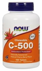 NOW Chewable C-500 Rágótabletta (100db)