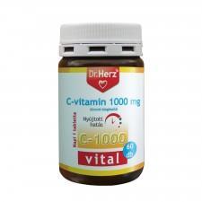 Dr. Herz C-vitamin 1000mg Nyújtott Hatású (60db)