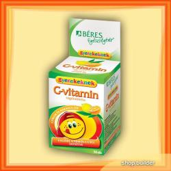 BÉRES C-vitamin gyerekeknek - 30db