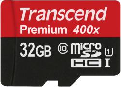Transcend Premium MicroSDHC 32GB Class 10 TS32GUSDCU1