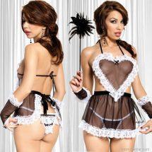 Softline Maid átlátszó szexi szobalány jelmez