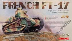 Meng Model 1/35 French FT-17 Light Tank (Riveted Turret) TS-011