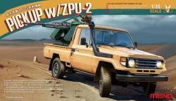 Meng Model 1/35 Pickup w/ZPU-2 VS-005