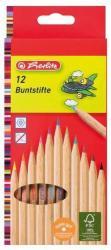 Herlitz Natúrfa színes ceruza 12db