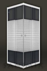 Sanimix 90x90x185 cm szögletes (22.39.51-90)