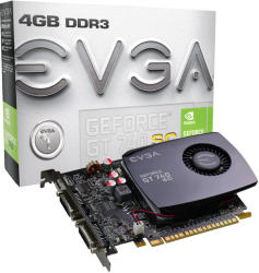EVGA GeForce GT 740 Superclocked 4GB GDDR3 128bit PCIe (04G-P4-2744-KR)