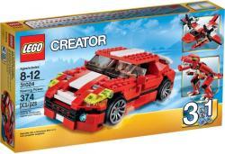 LEGO CREATOR Dübörgő erő 31024