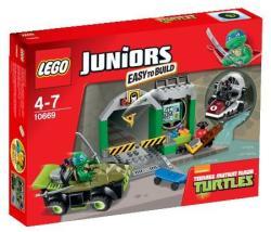 LEGO Juniors - Teknőc rejtekhely (10669)