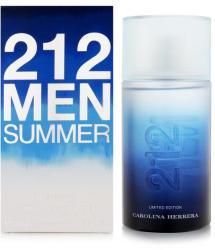 Carolina Herrera 212 Men Summer (2013) EDT 100ml Tester