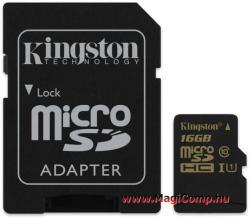 Kingston microSDHC 16GB Class 10 UHS-I SDCA10/16GB