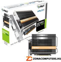 Palit GeForce GTX 750 Ti KalmX 2GB GDDR5 128bit PCIe (NE5X75T000941H)