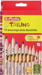 Herlitz Trio színes ceruza vastag 12db