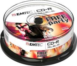 Emtec CD-R 700MB 52x - henger 25db