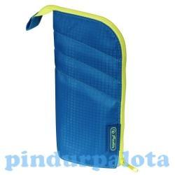 Herlitz my.case Color Blocking tolltartó - kék/lemon