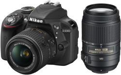 Nikon D3300 + 18-55mm VR II + 55-200mm VR