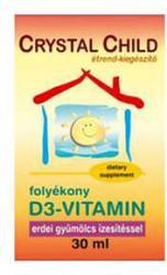 Crystal Child D3 Vitamin 30ml