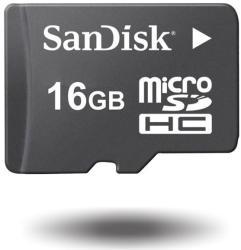 SanDisk MicroSDHC 16GB SDSDQB-016G-B35