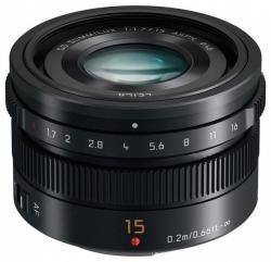 Panasonic H-X015E Lumix G 15mm f/1.7