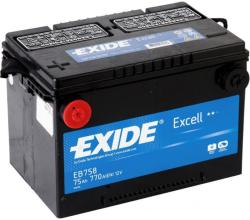 Exide Excell 75Ah 770A Bal+ (EB758)