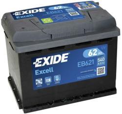 Exide Excell EB621 62Ah B (EB621)