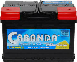 CARANDA DURABILA 70Ah 600A