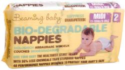 Beaming Baby Biológiailag lebomló pelenka - Midi 40db