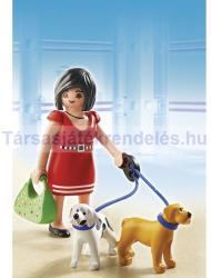Playmobil Bevásárlókörúton a kutyusokkal (5490)