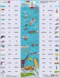 Larsen Tanuljunk angolul! Vízi élet 64 db-os EN8