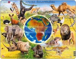 Larsen Afrika állatvilága 90 db-os AW2