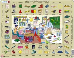 Larsen Tanuljunk Angolul! Osztályterem 70 db-os