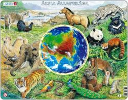 Larsen Ázsia állatvilága 90 db-os AW4