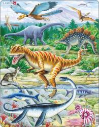 Larsen Dinoszauruszok 35 db-os