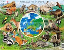 Larsen Európa állatvilága 90 db-os AW1