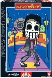Educa Calaveritas, Michael Jackson 500 db-os (15201)