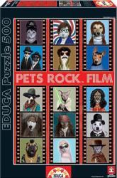 Educa Pets Rock Film 500 db-os (15553)