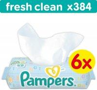 Pampers Baby Fresh Clean 6x64db