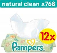 Pampers Natural Clean 12x64db