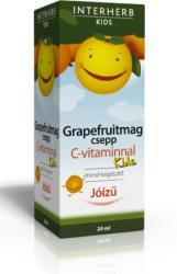 INTERHERB Kids Grapefruitmag csepp C-vitaminnal 20ml