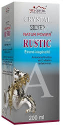 Crystal Silver Rustic 200ml