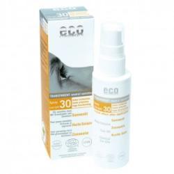 Eco Cosmetics Átlátszó Fényvédő Spray SPF 30 - 50ml