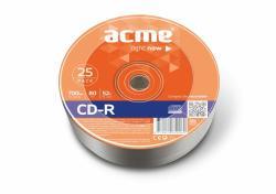 ACME CD-R 700MB 52x - zsugor 25db CDA7052Z25