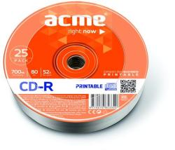 ACME CD-R 700MB 52x - zsugor 25db CDA7052Z25N