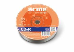 ACME CD-R 700MB 52x - zsugor 10db CDA7052Z10