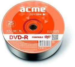 ACME DVD-R 4.7GB 16x - zsugor 25db DVDA-16Z25N