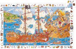 DJECO Kalózok 100 db-os megfigyelő puzzle (7506)