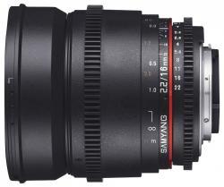Samyang 16mm T2.2 ED AS UMC CS (Pentax)