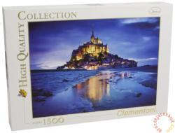 Clementoni Le Mont Saint-Michel, Franciaország 1500 db-os (31994)